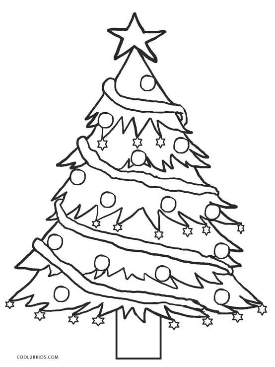 Free Christmas Tree Coloring Pages Printable Christmas Coloring Pages Tree Coloring Page Christmas Tree Coloring Page