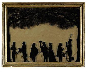 Regency Silhouettes - Google Search