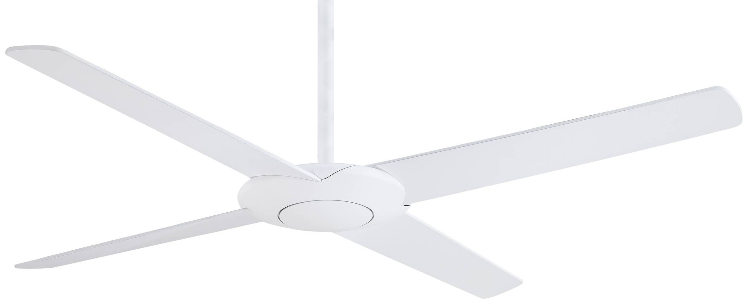Minka Aire Pancake Ceiling Fan In Flat White Guaranteed Lowest Price