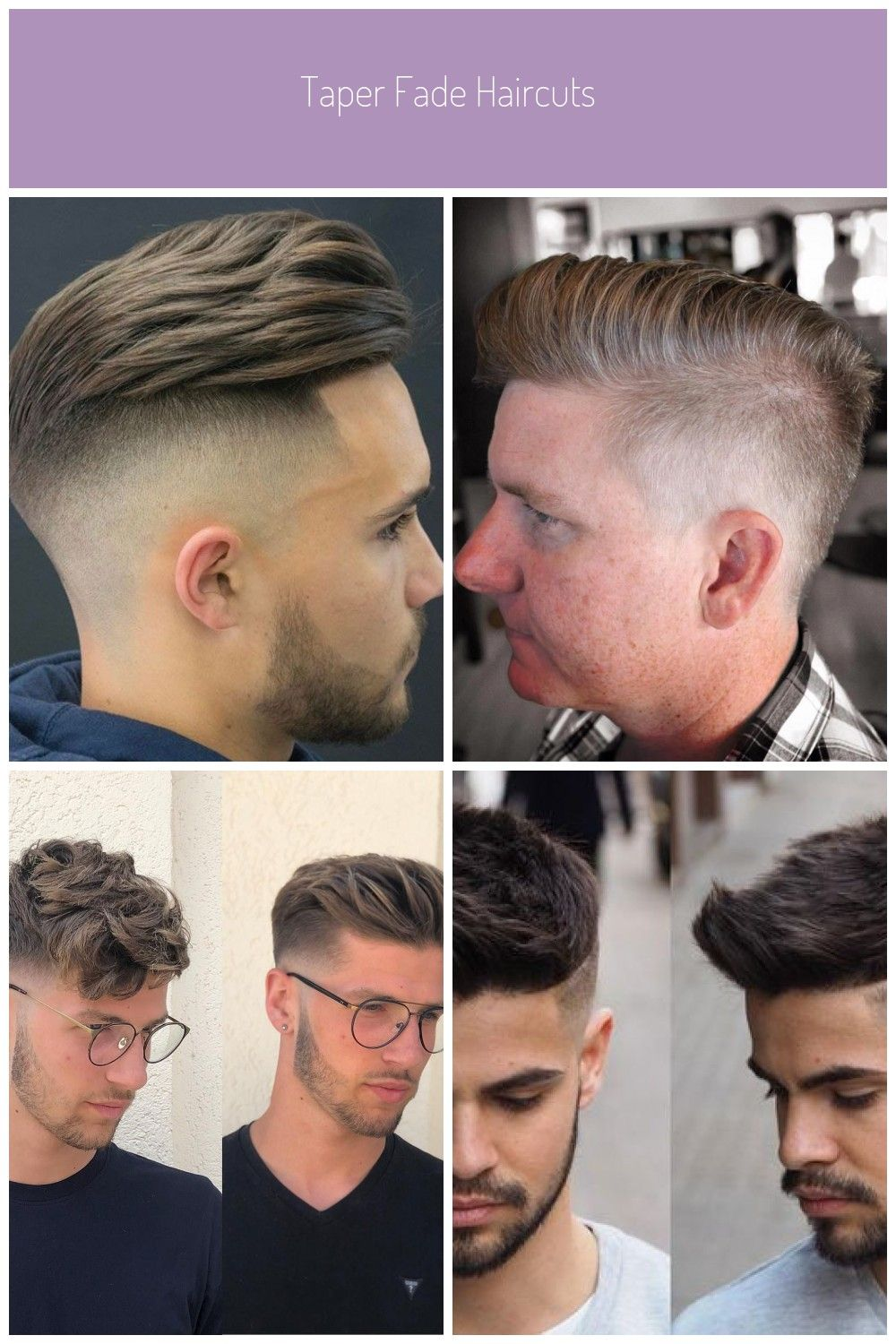 Pompadour Taper Fade Best Taper Fade Haircuts For Men Cool Men S Taper Fade Hairstyles Low High Mid Taper Fade Haircut Fade Haircut Mens Haircuts Fade