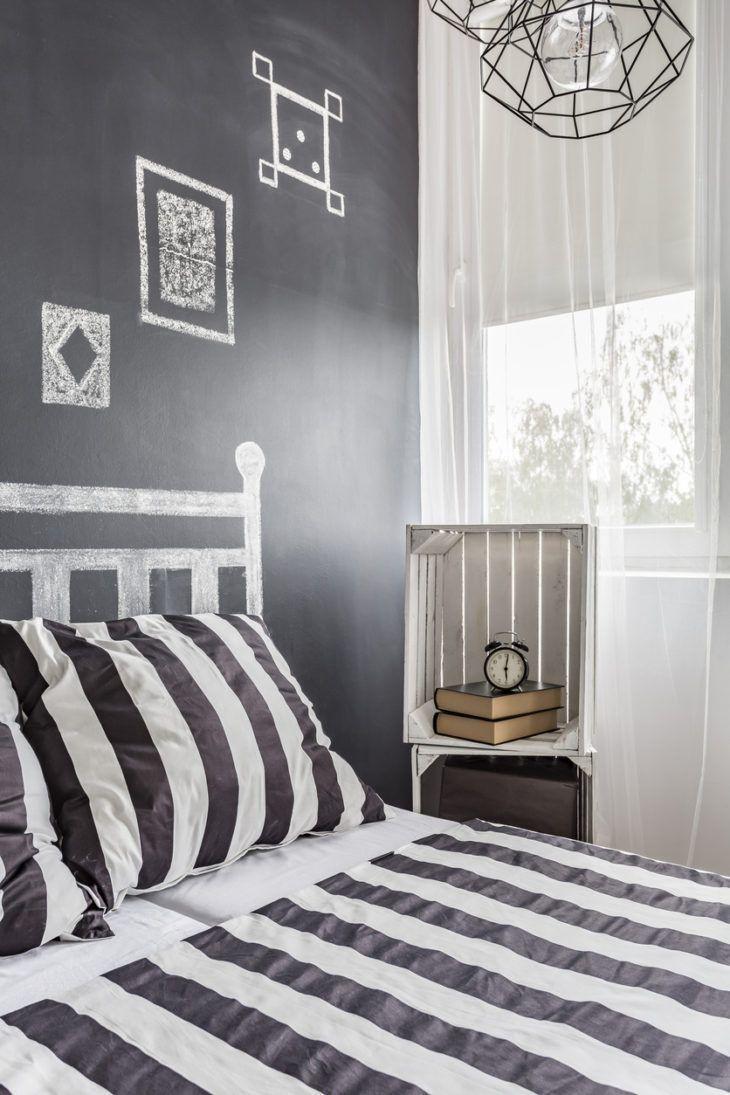 Schwarzes Schlafzimmer 60 Fotos und Farbe, die Spitzen