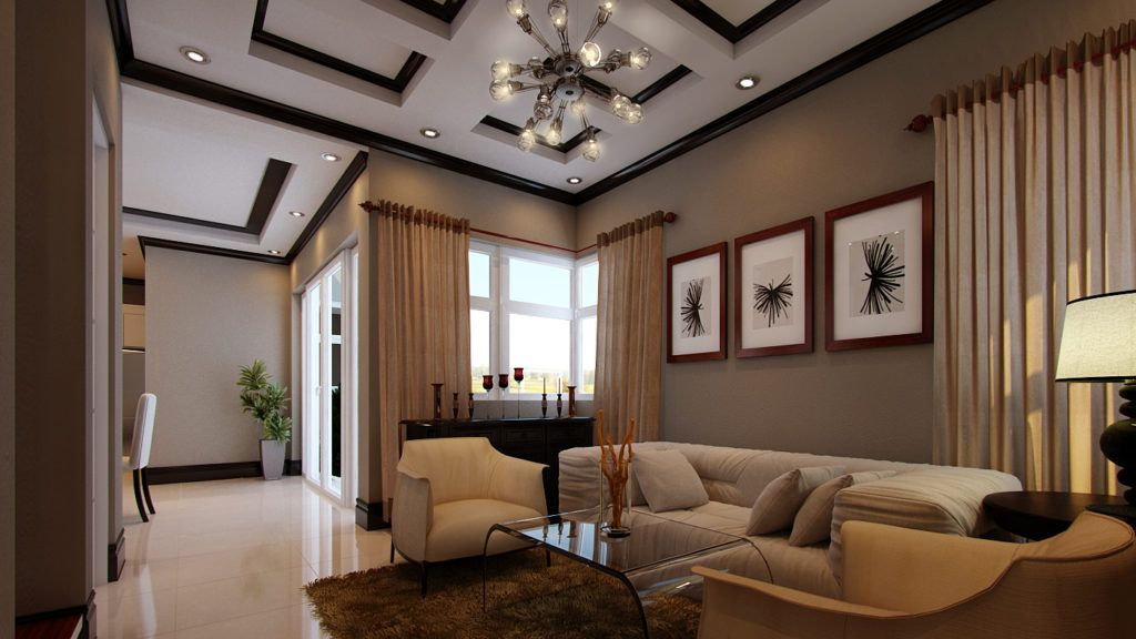 Home Design Amazing Philippines Single Storey With Eye Philippines House Design Bungalow House Design Simple Living Room