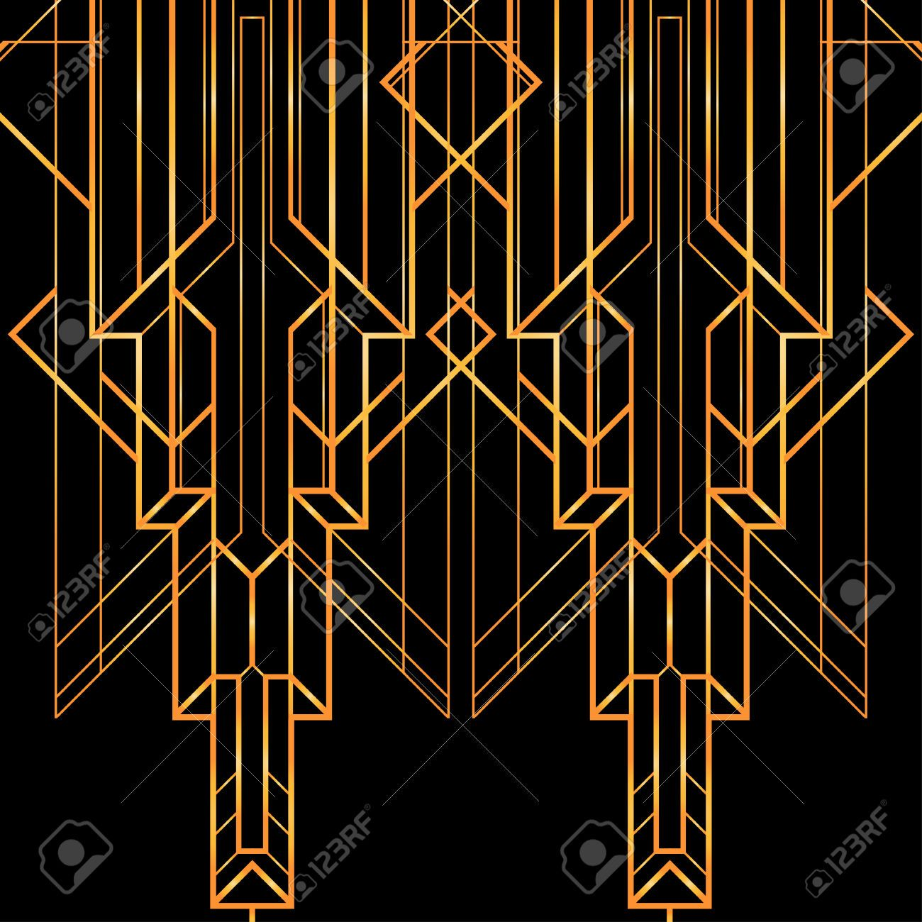 Art Deco Geometric Pattern 1920 S Style Royalty Free Cliparts Vectors And Stock Illustra Art Deco Pattern Art Deco Illustration Art Deco Geometric Patterns