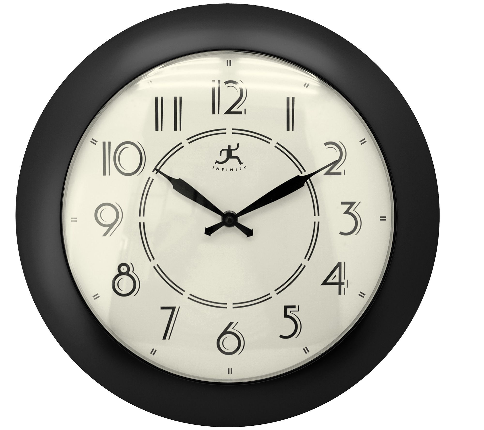 "Jitter Bug 14-1/2"" Wall Clock by Infinity"