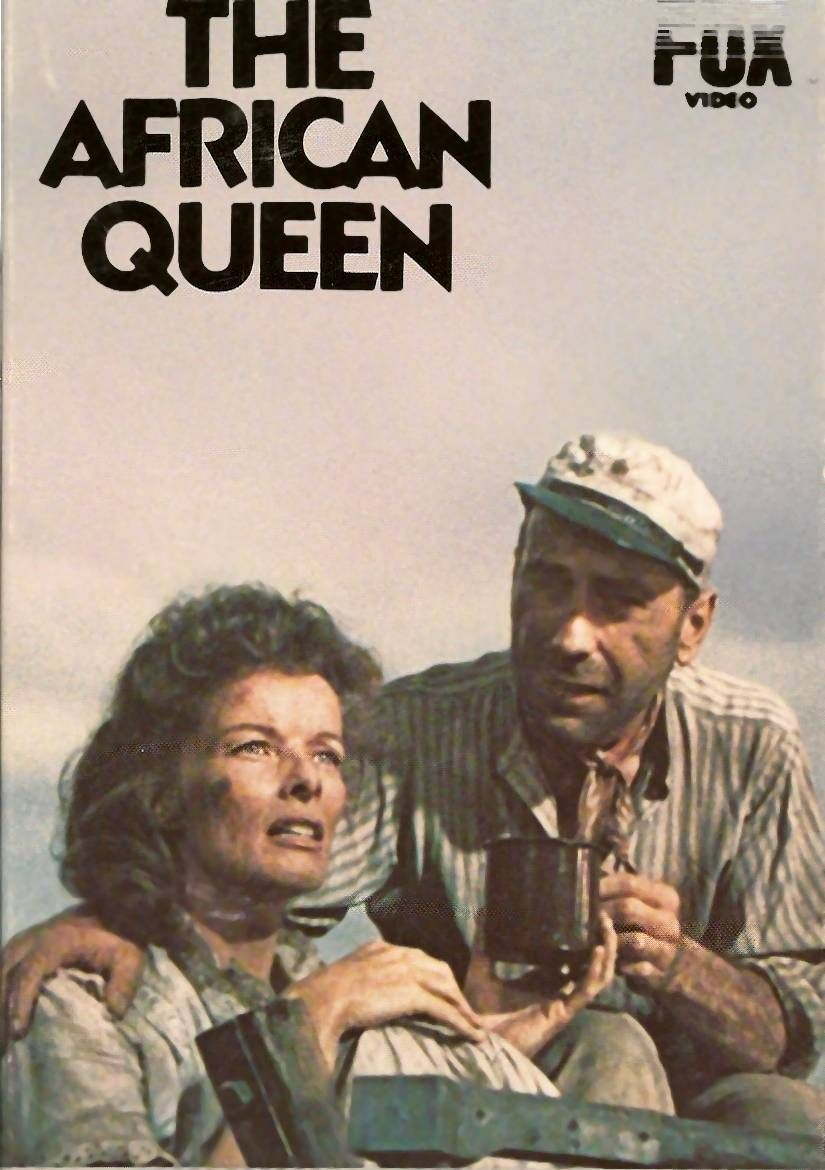 The African Queen 1951 Favorite Tv Shows Movies Pinterest