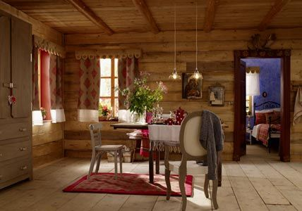 einrichten im chalet stil inspiration und deko. Black Bedroom Furniture Sets. Home Design Ideas