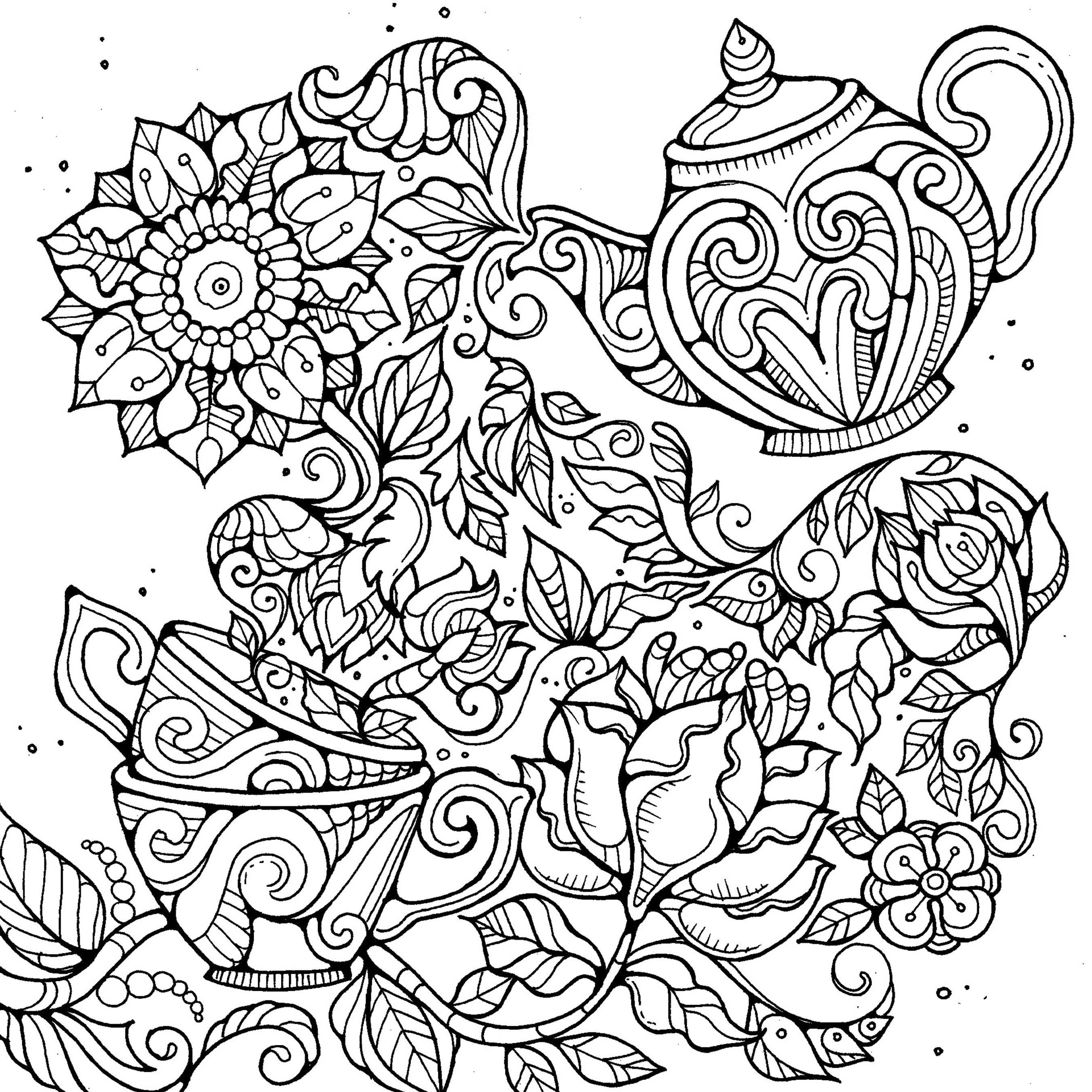 Colouring Pages by Dee Mans on Behance | imprimir food | Pinterest ...