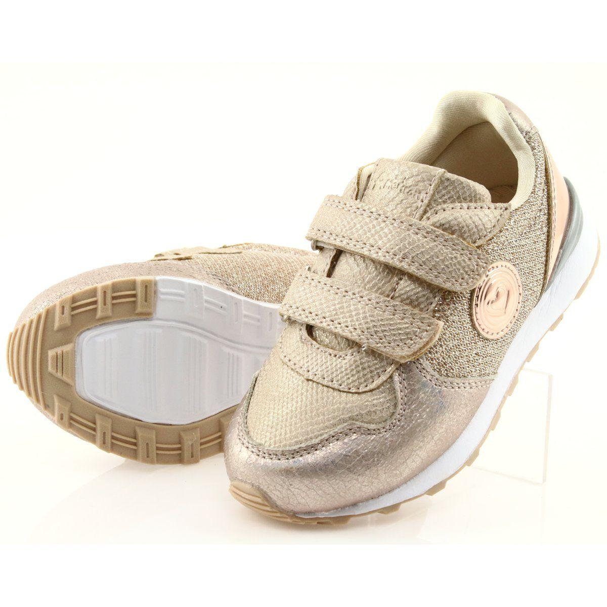 Zlote Buty Sportowe American Club Es26 Zloty Sports Shoes Sports Footwear Kid Shoes