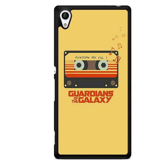 Guradian Of The Galaxy Awesome Mix Vol TATUM-4959 Sony Phonecase Cover For Xperia Z1, Xperia Z2, Xperia Z3, Xperia Z4, Xperia Z5