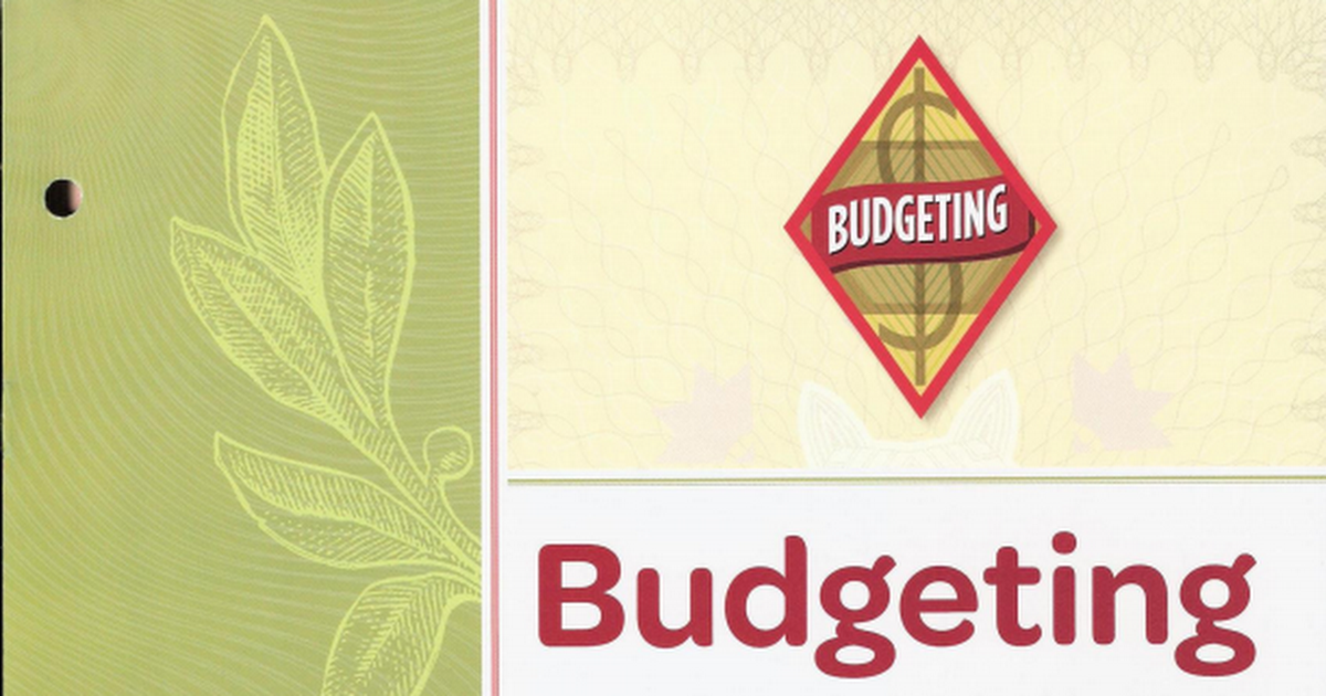 Budgeting Pdf Cadette Girl Scout Badges Girl Scout