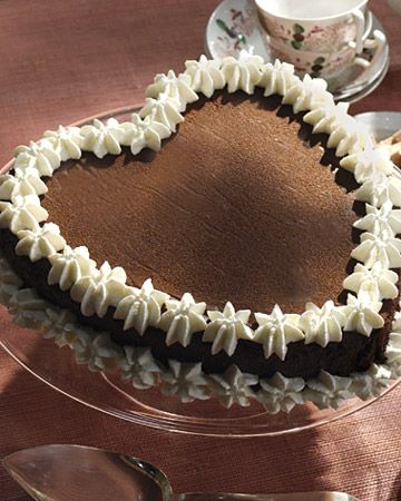 Valentine S Day How To Instructions Martha Stewart Chocolate Heart Cakes Chocolate Hearts Valentines Day Desserts