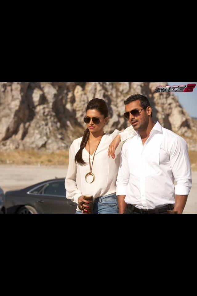 'Race 2' still #Deepika Padukone and John Abraham ...