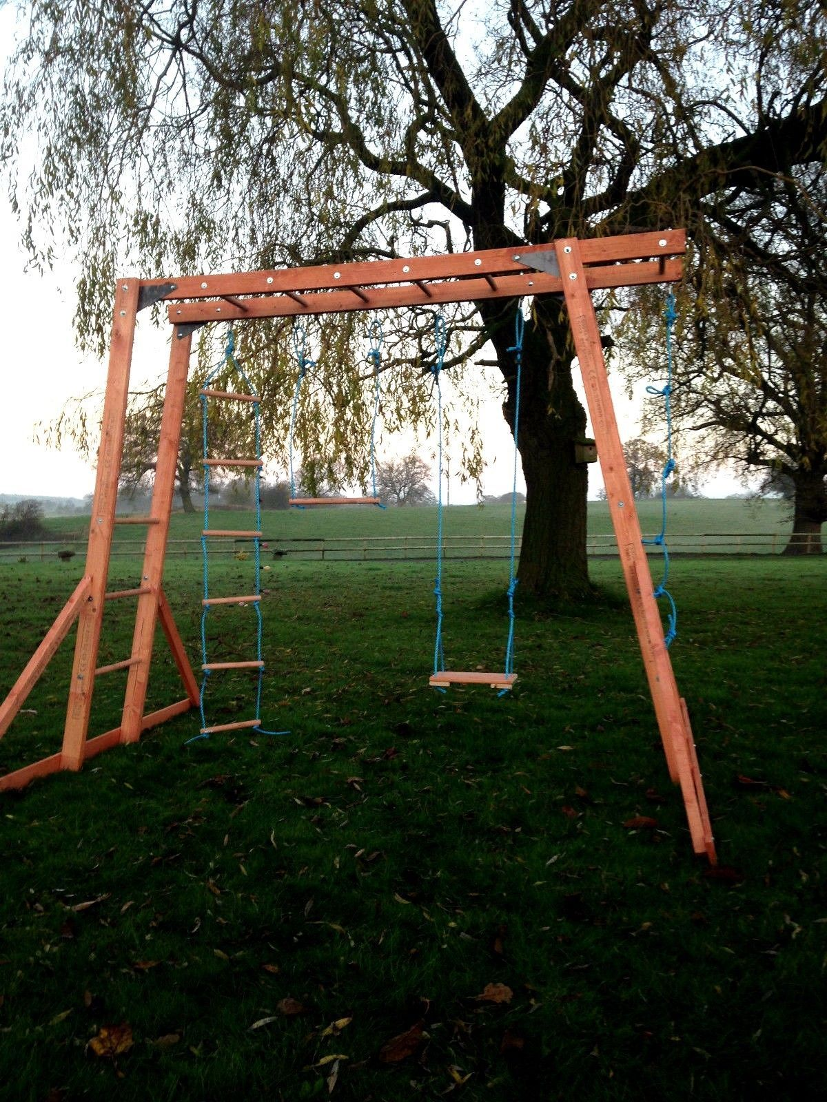 Sy Free Standing Monkey Bars Suitable For Domestic Use By Children Aged 3 15 Ebay