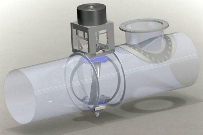 Turbinas para tuberias que generan electricidad