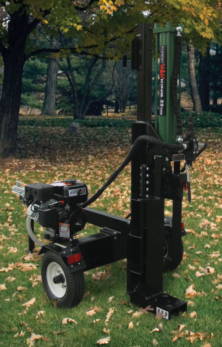 Forest King 22 Ton Gas Log Splitter At Menards Gas Log Splitter Log Splitter Splitting Wood