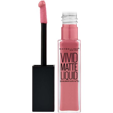 Photo of Maybelline Color Sensational Vivid Matte Liquid Lipstick, Nude Flush, 0.26 Fl Oz – Walmart.com