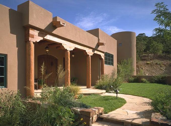 Archaeo Architects Santa Fe home.