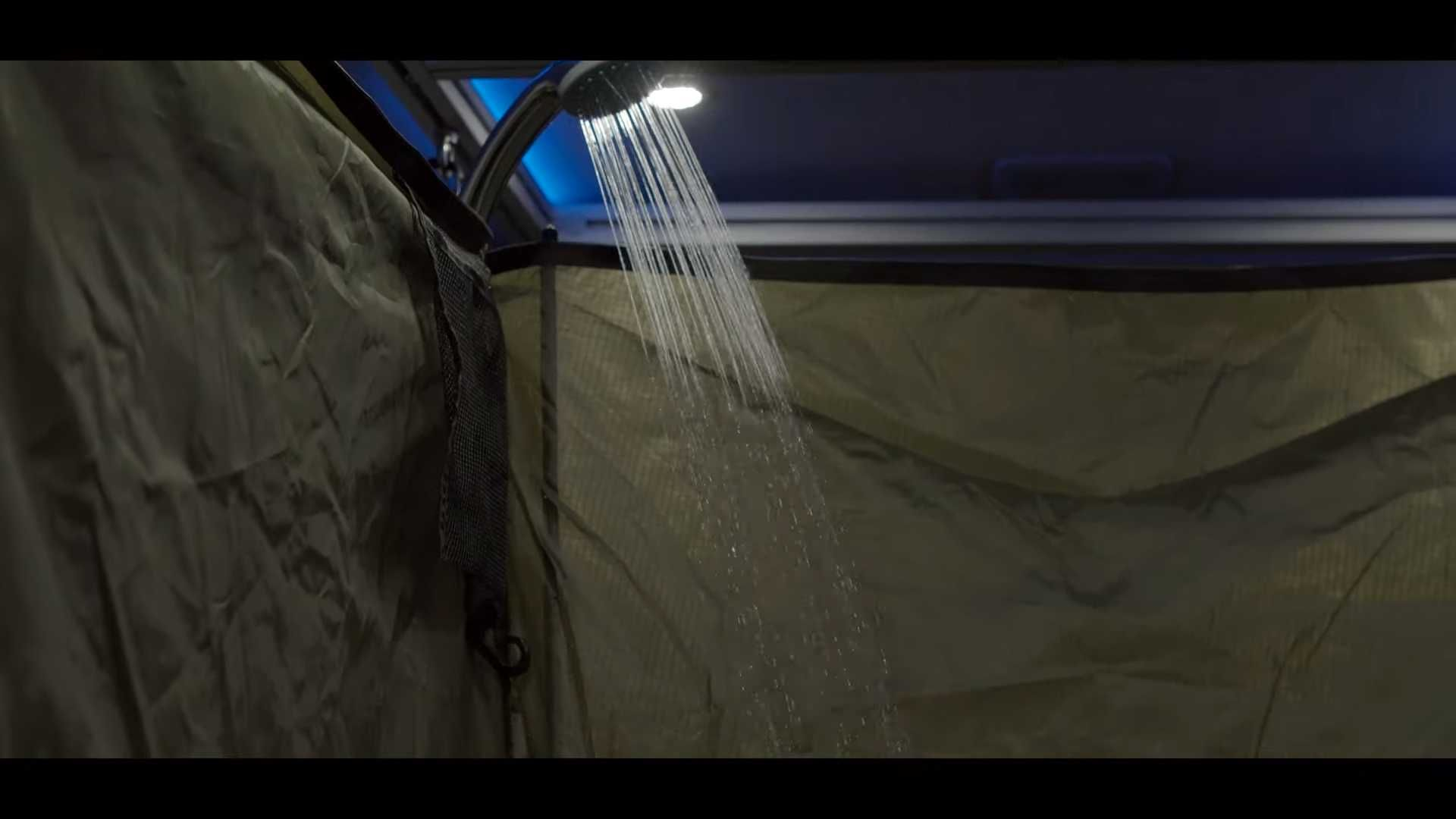 Horsebox Barge or Office A portable shower that fits in any Van EverShower