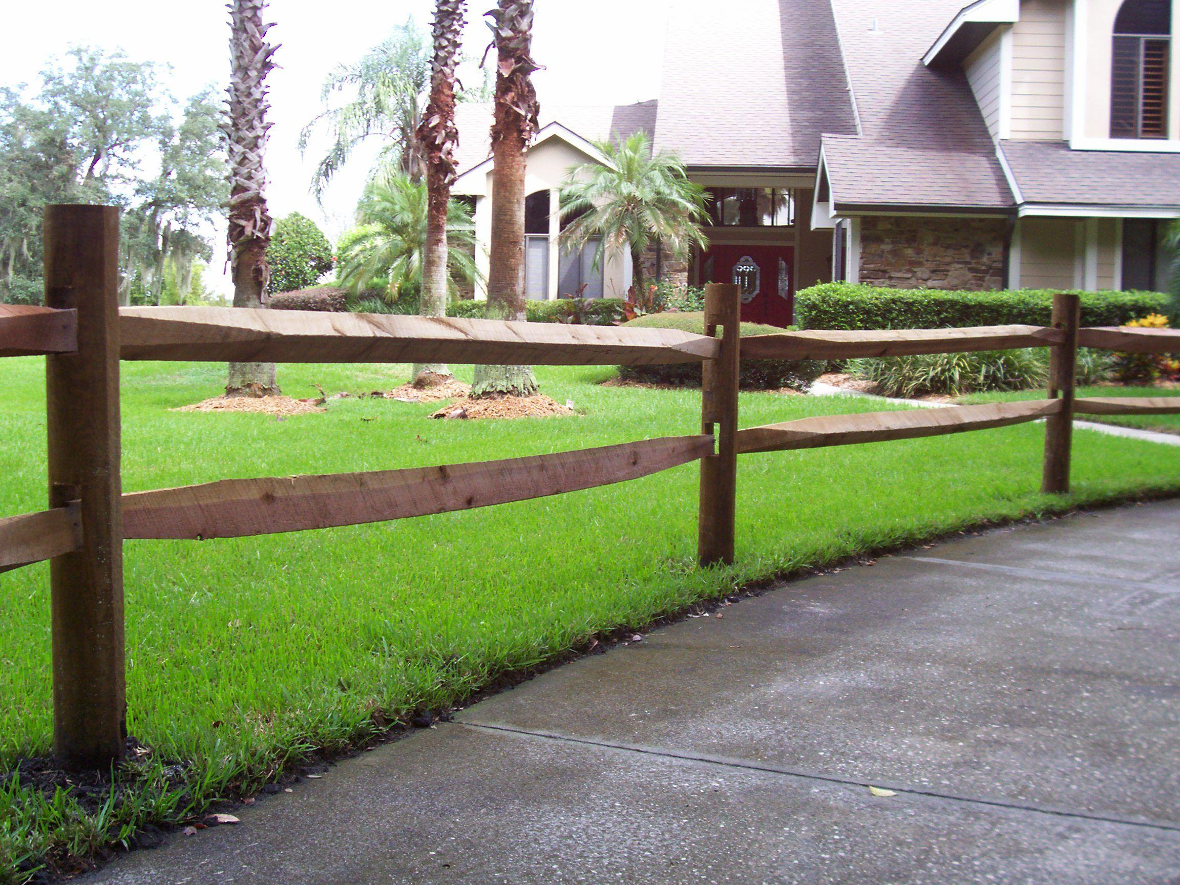 Custom Ranch Rail Horse Fence By Mossy Oak Fence Great