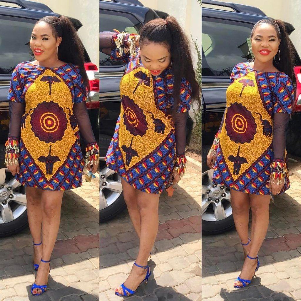 Simple Ankara Short Gown Styles Beauty Tenue Africaine Robe