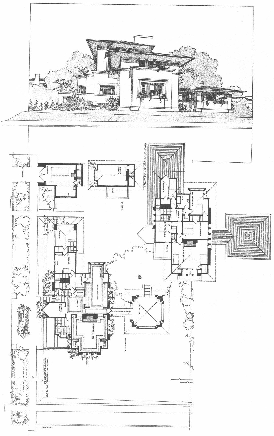 Falling water frank lloyd wright homes vintage house plans famous also best let   be shall we images on pinterest in rh