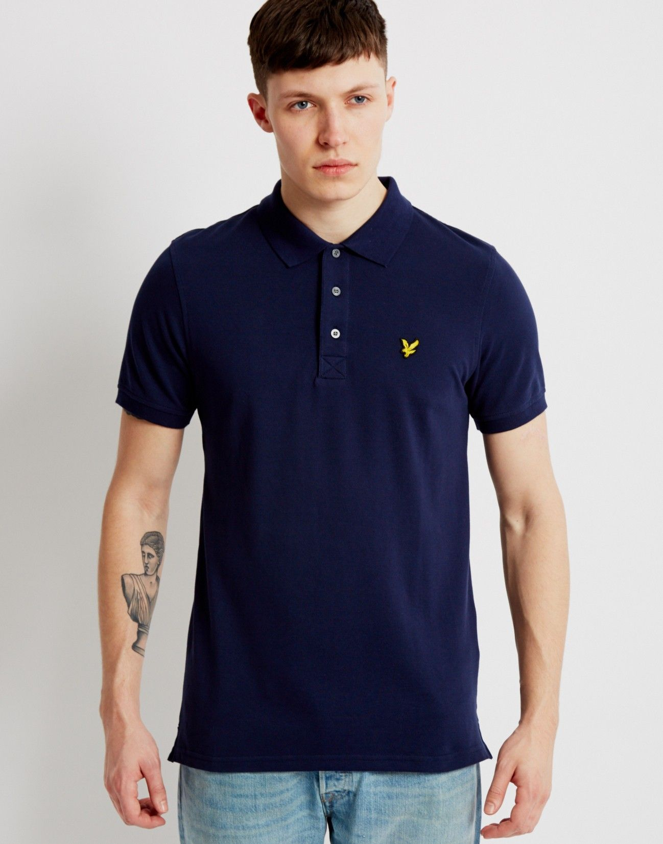 Lyle & Scott Polo Shirt Navy | Shop menswear at The Idle Man