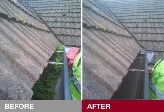 New Jersey And Surrounding Suburb Homeowners Can Expect Exceptional Service From Ned Stevens Gutter Cleaning And Cleaning Gutters How To Install Gutters Gutter