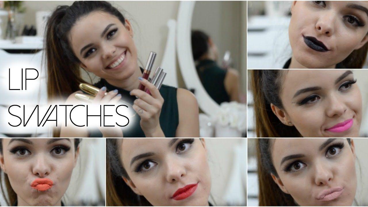 Lip Swatches: Mac+ Anastasia Beverly Hills + Gerard Cosmetics