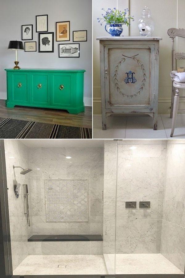 Photo of Navy Blue Bath Accessories | Bathroom Images | Bathroom mirror set