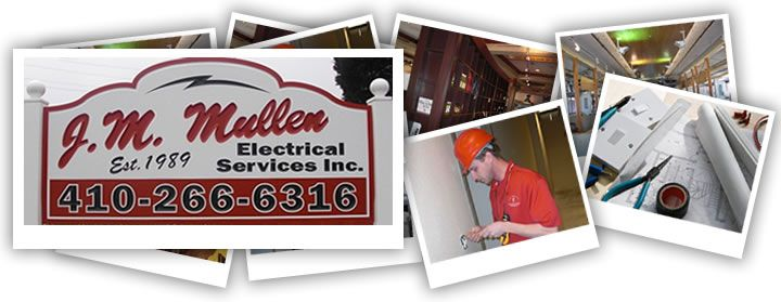 J M Mullen Electrical Services Annapolis Electrician