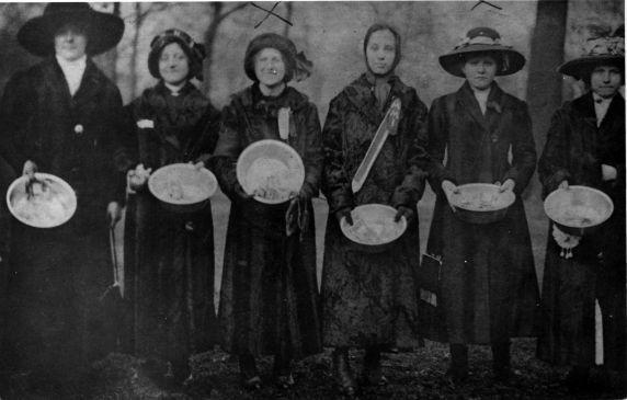 (5223) Akron Rubber Strike, Relief, 1913