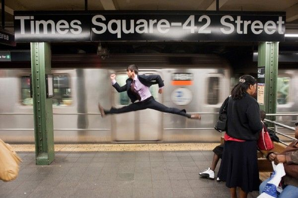Dancers Among Us is a vast ongoing photography project led by Jordan Matter. In the spring of 2009 he began featuring top professional dancers in everyday situations throughout the United States