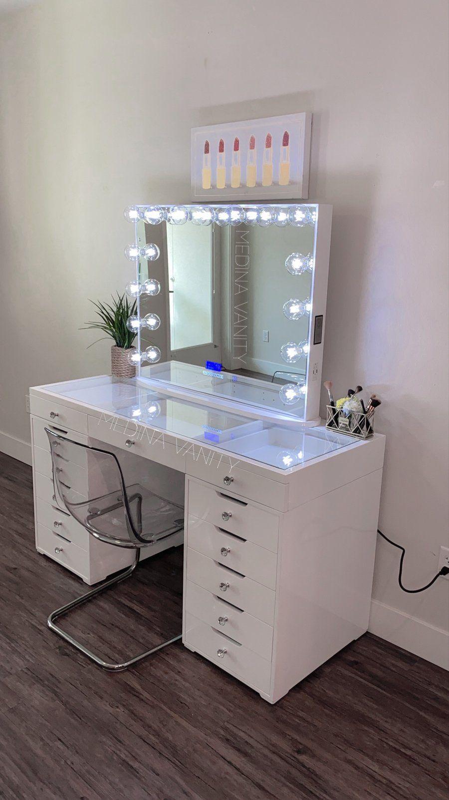 ZARA Vanity Table + 9 Dressers  Vanity makeup rooms, Beauty room