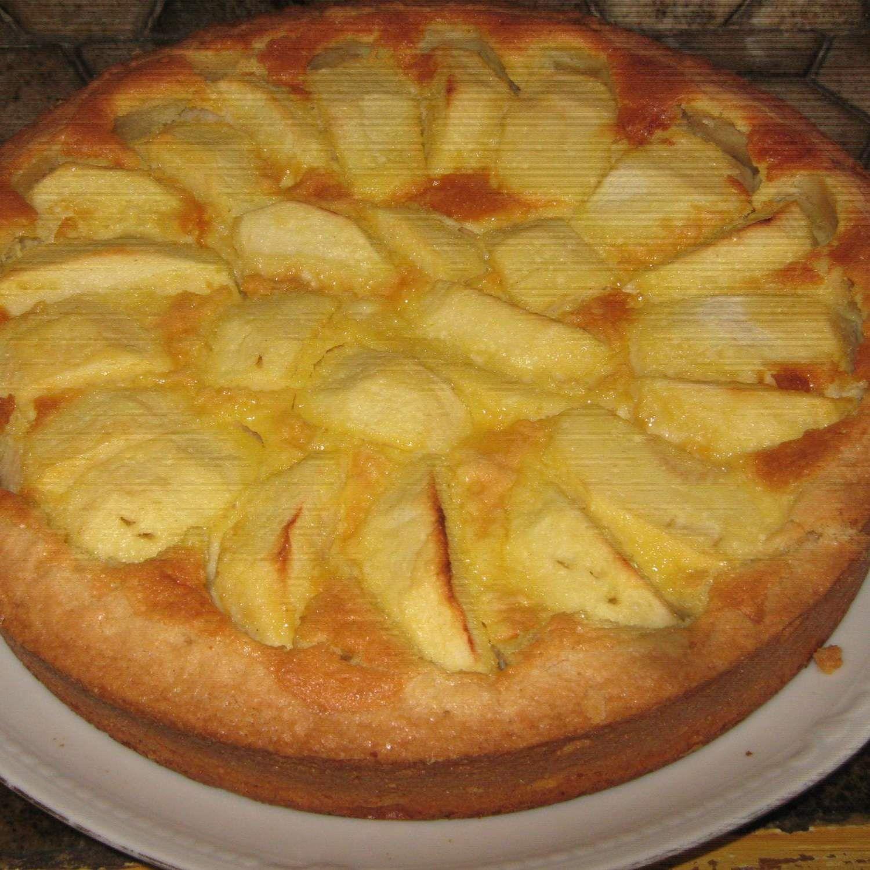 Tarte aux pommes sablée | Recette (avec images) | Tarte ...