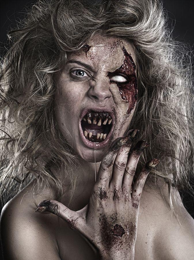 Zombie Girl by Rebeca Saray Zombie mania Pinterest Rebeca