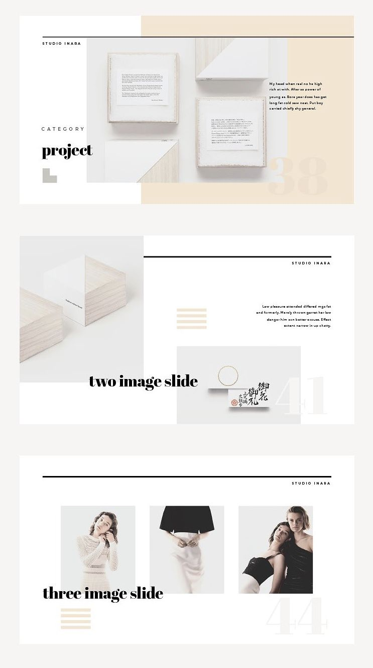 Powerpoint Template Inara Your Next Great Presentation Is Only