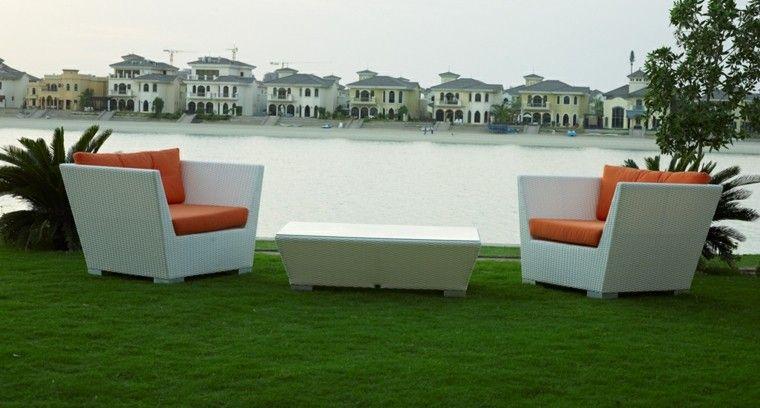 muebles de diseño moderno | muebles de ratan y mimbre junco ... - Muebles De Jardin De Diseno