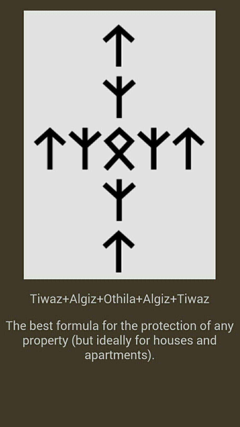 Protection De La Maison Celtic Pinterest Runes Asatru And