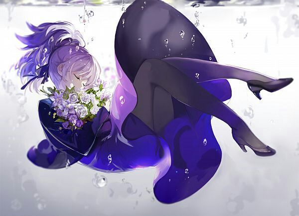 Photo of Xả ảnh anime – Girl tóc tím