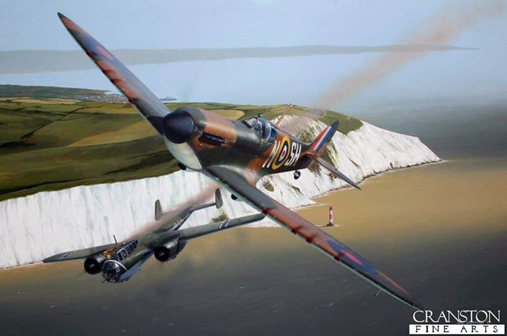 The Longest July by Ivan Berryman. Sub Lt F Dawson Paul with the Spitfire shared a Dornier Do17 off Beachy Head and, just four days later claimed a Messerschmitt Bf.109. Further kills among them five Bf.110s and another Do.17. His final victory was a Bf.109 on 25th, but on this day he fell to the guns of the German ace Adolf Galland. Dawson Paul was rescued from the English Channel by a German E-boat, but died of his wounds five days later as a prisoner of war.