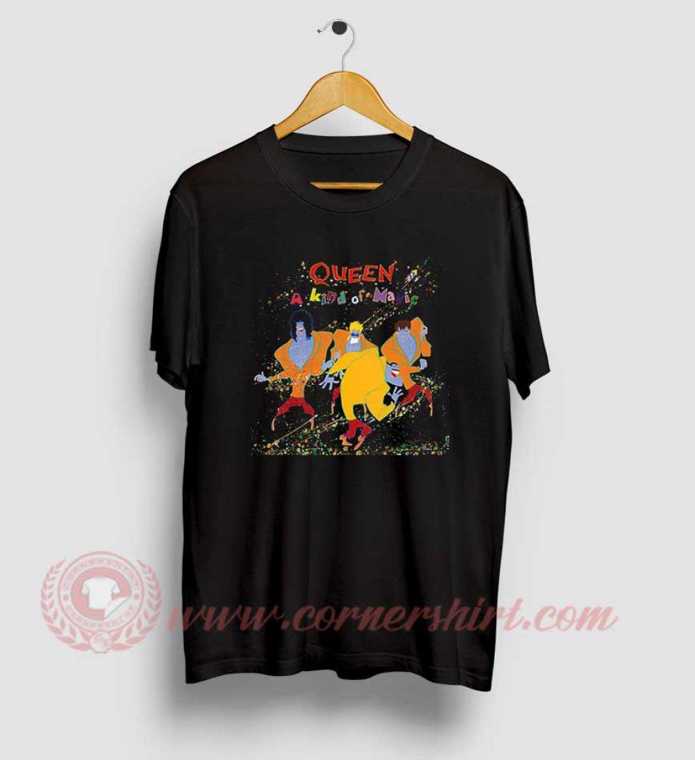 Queen A Kind Of Magic T Shirt Custom Made T Shirts A Kind Of Magic Shirts
