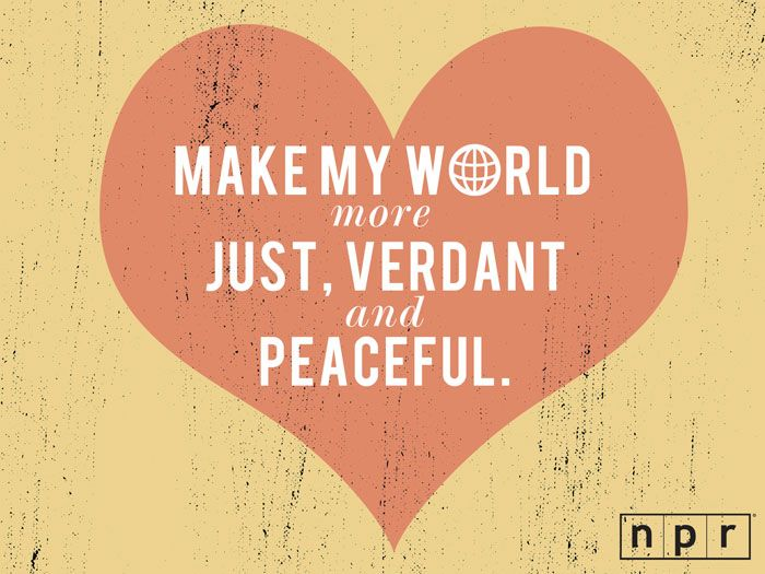a valentines wish from our friends at npr what would you like the world to be documenting our lives pinterest