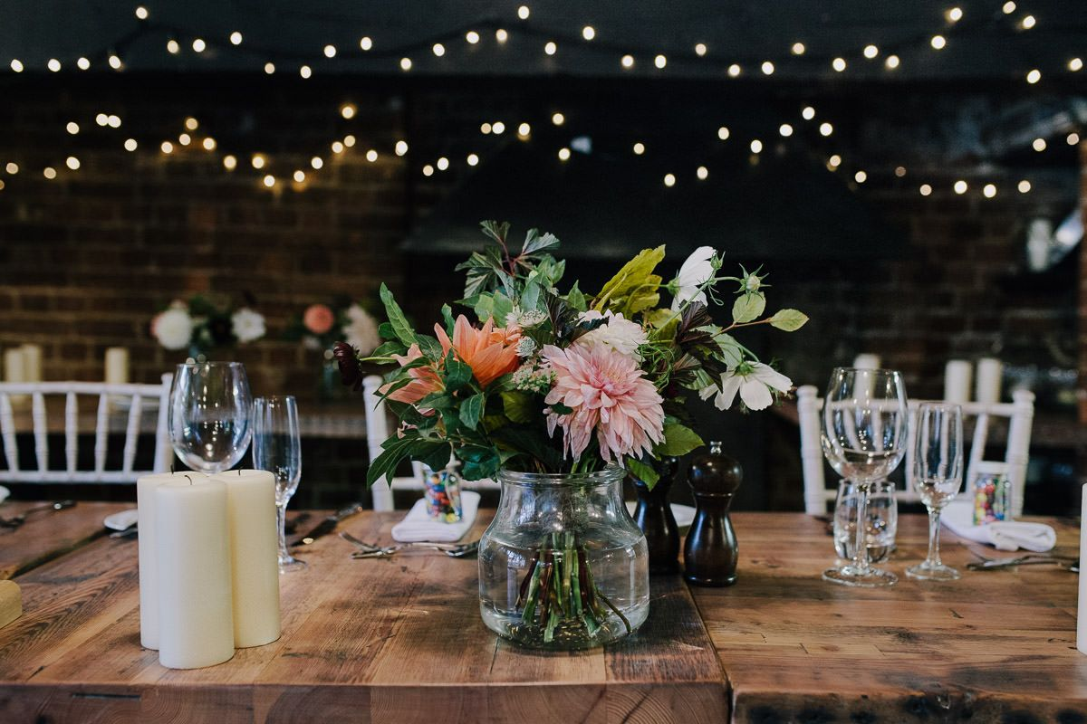 Reception flowers wedding photographer london we loved this