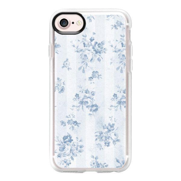 Fashion Designer Floreale Bianco Custodia per iPhone e Galaxy