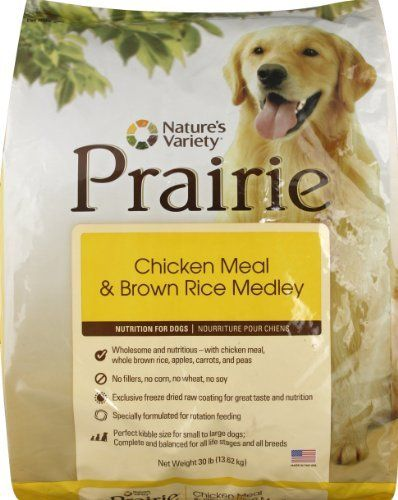 Prairie Chicken Meal Brown Rice Medley Dry Dog Food By Nature S