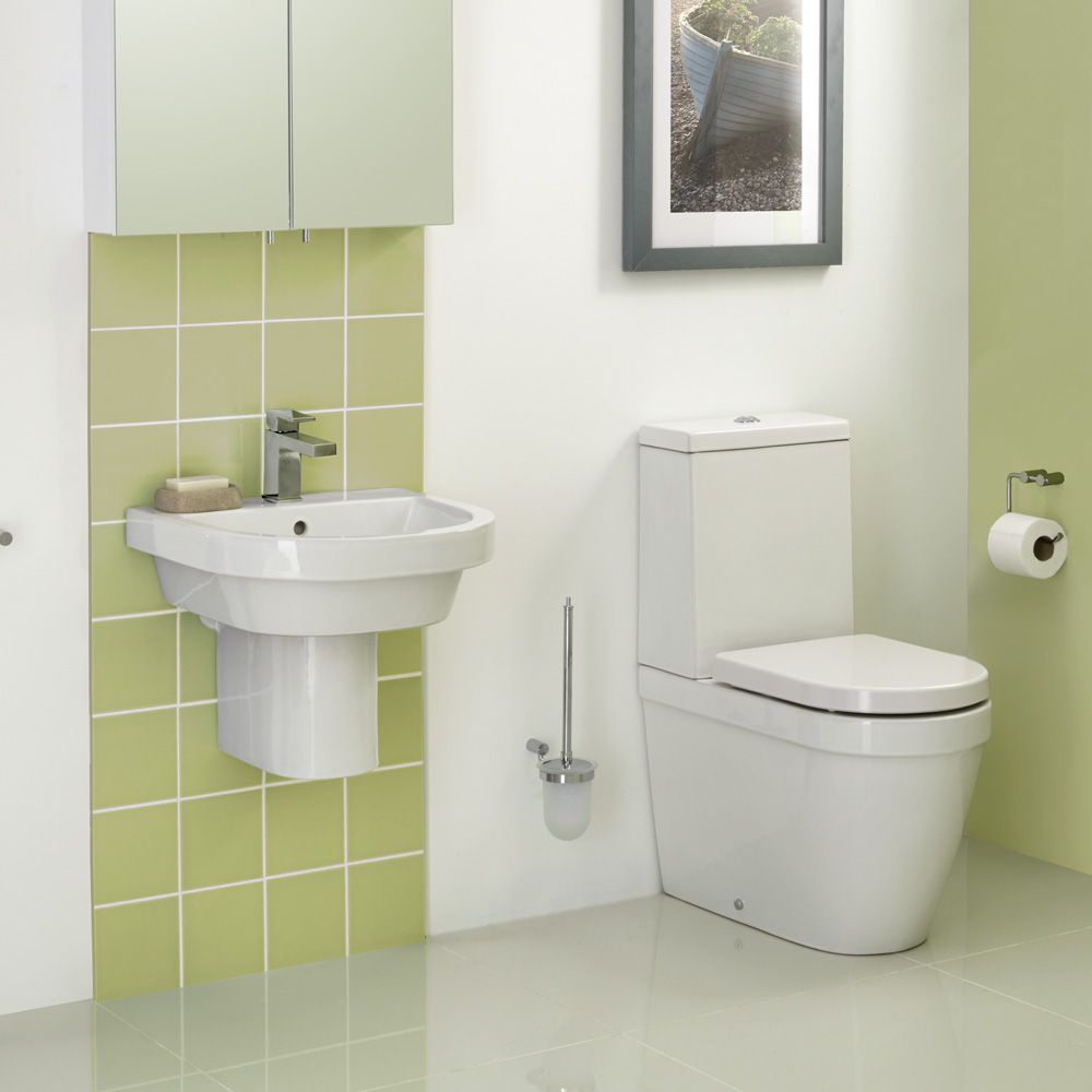 Euro Two-Piece Close Coupled Wc Inc Seat | bathstore | Bathroom ...