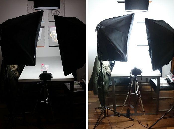 Licht Blogbilder machen