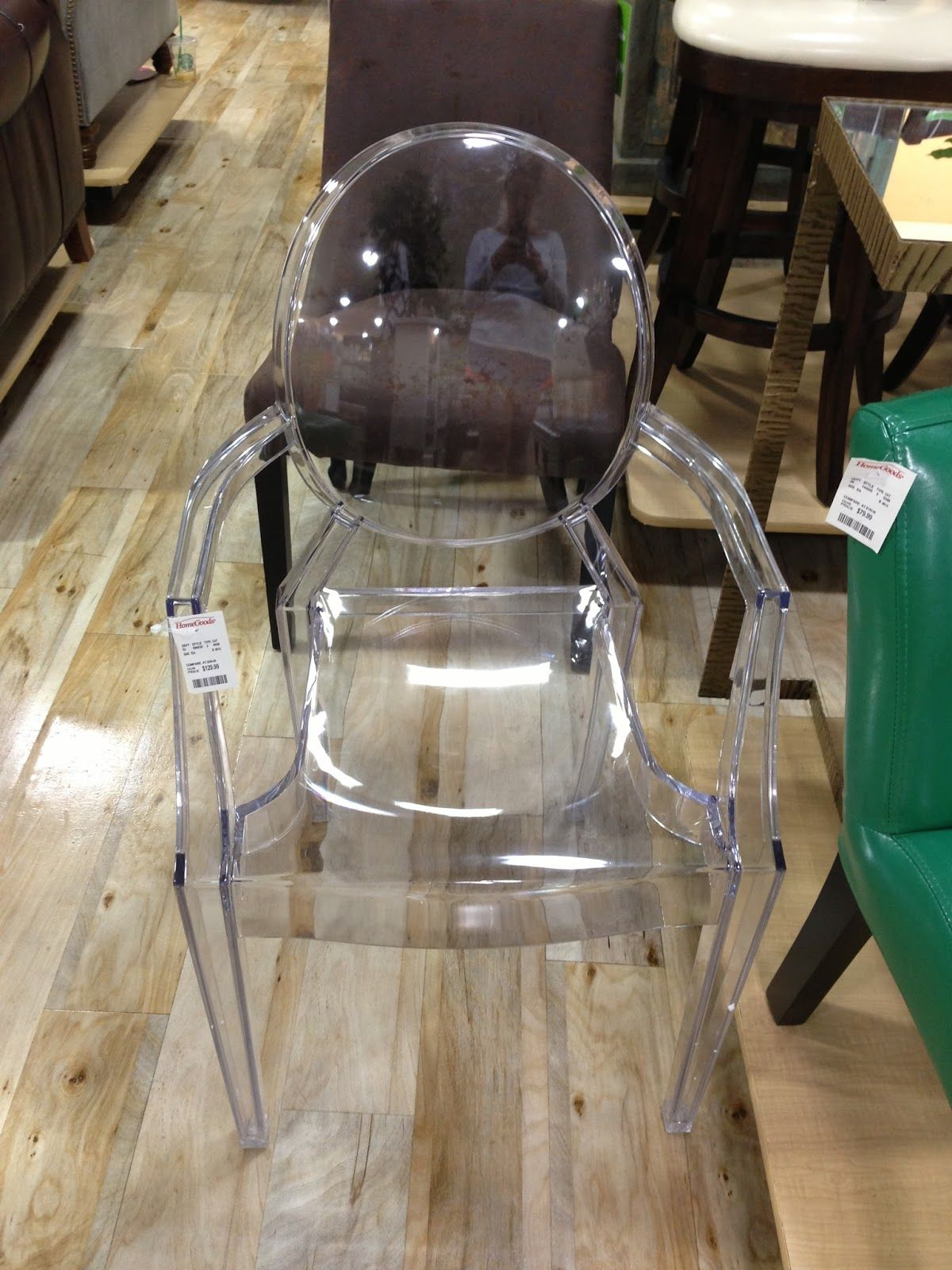 Lucite Ghost Chair HomeGoods Dining Room Home Decor