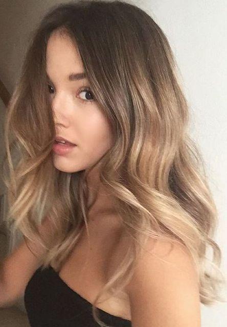 Glamorous brown hair balayage, #Balayage #brown #Glamorous #Hair