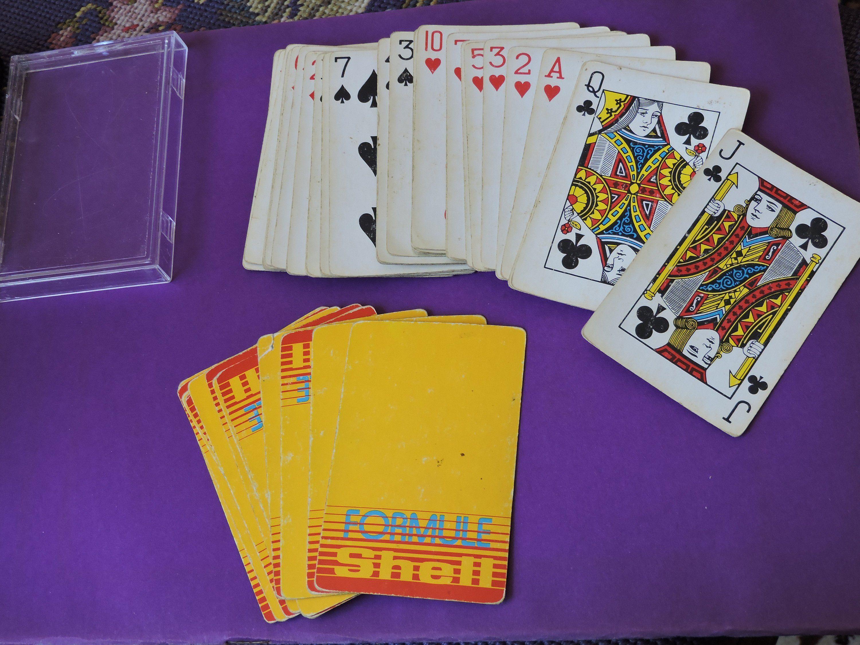 Shell Formula Petroliana Playing Cards Deck of 54 Plus 2